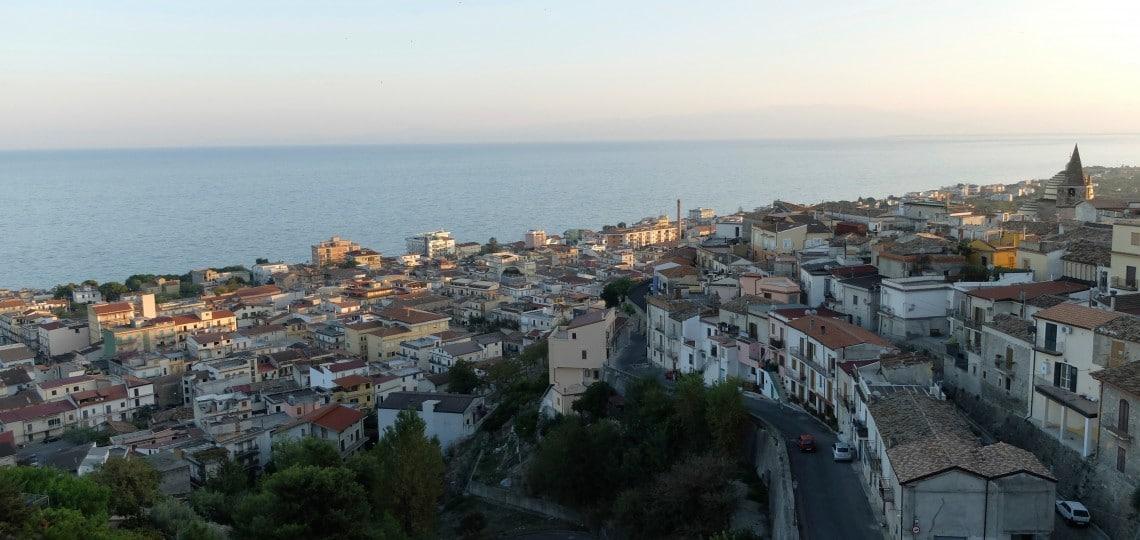 The nearby town of Trebiasacce, where Orazio attended college.