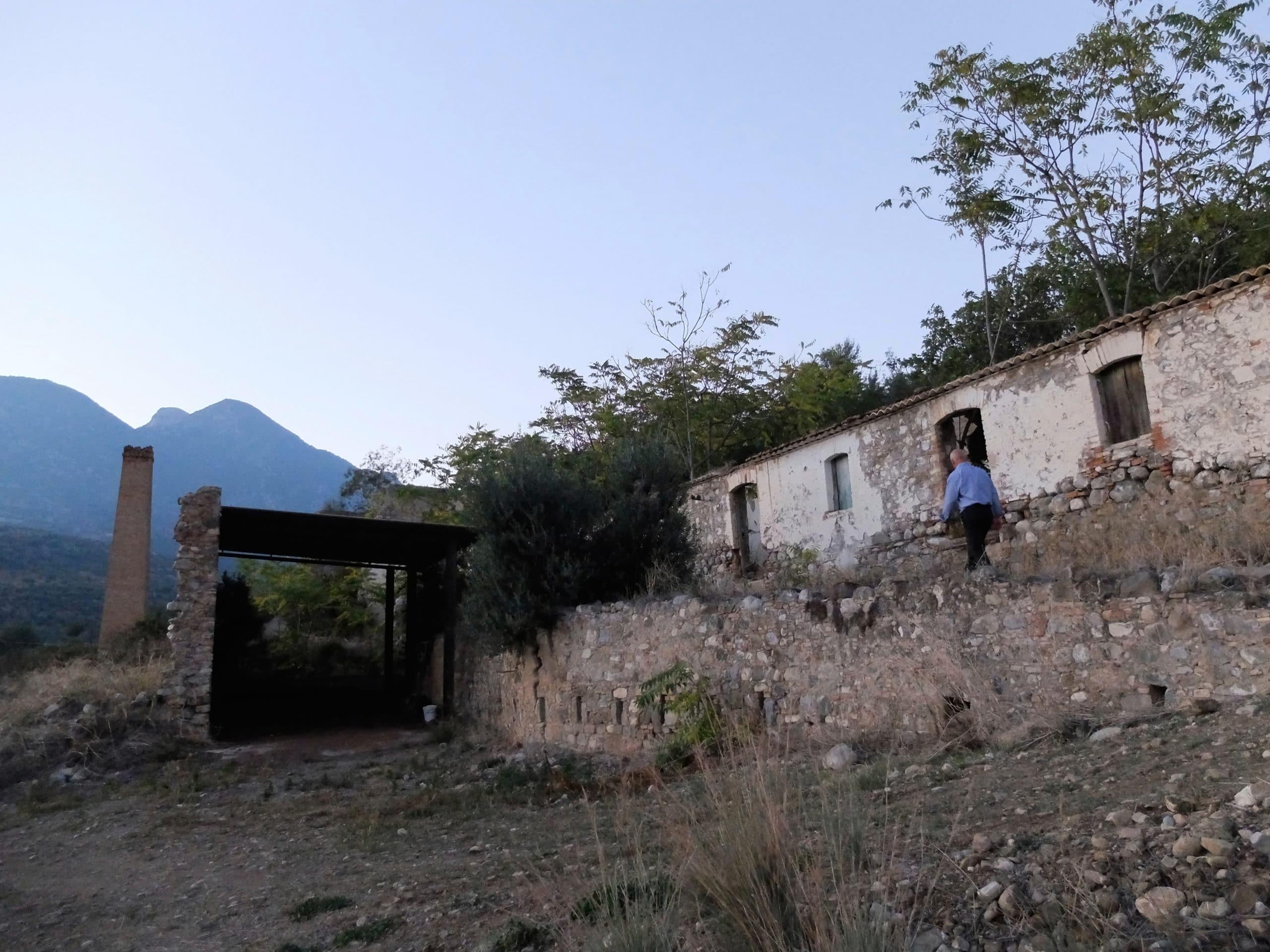 The schoolhouse where Orazio attended elementary school.