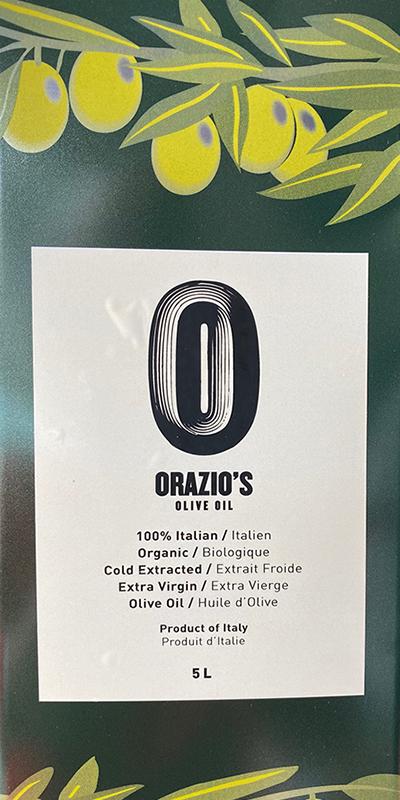 Orazio's Olive Oil